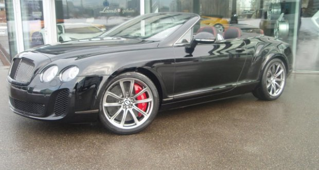 Bentley Continental Supersports Convertible ISR- 1 of 100 Cars! 2012