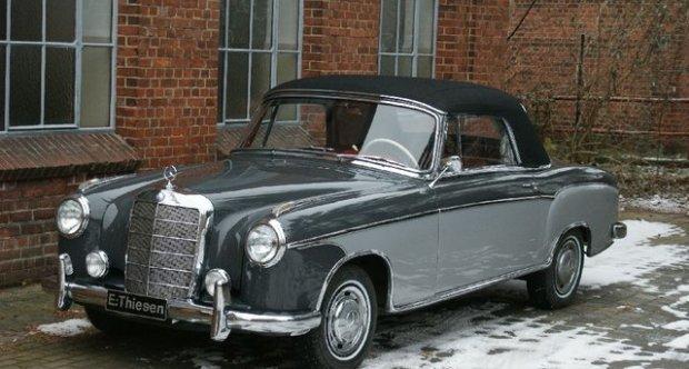 Mercedes-Benz Ponton 220 S Cabriolet 1959