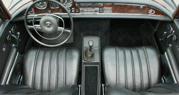 Mercedes-Benz Coupé 280 SE 3.5 ltr. Cabriolet 1970