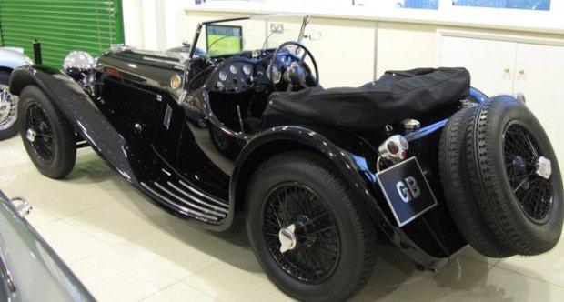 Jaguar SS 100 1935 Olympia Motor Show SS100 1935