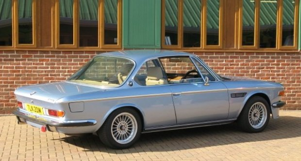 BMW 3,0 Stunning restored CSI Coupe with M5 engine 1973