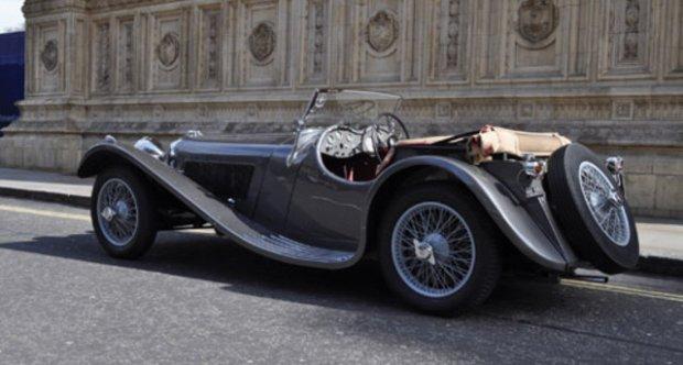 Jaguar SS 100 2½ Litre 1937