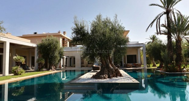 Beautiful contemporary villa in the heart of the Palmeraie