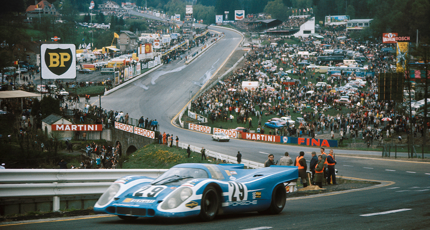 Eau Lord... it's Spa's greatest (and most terrifying) corner | Classic Driver Magazine