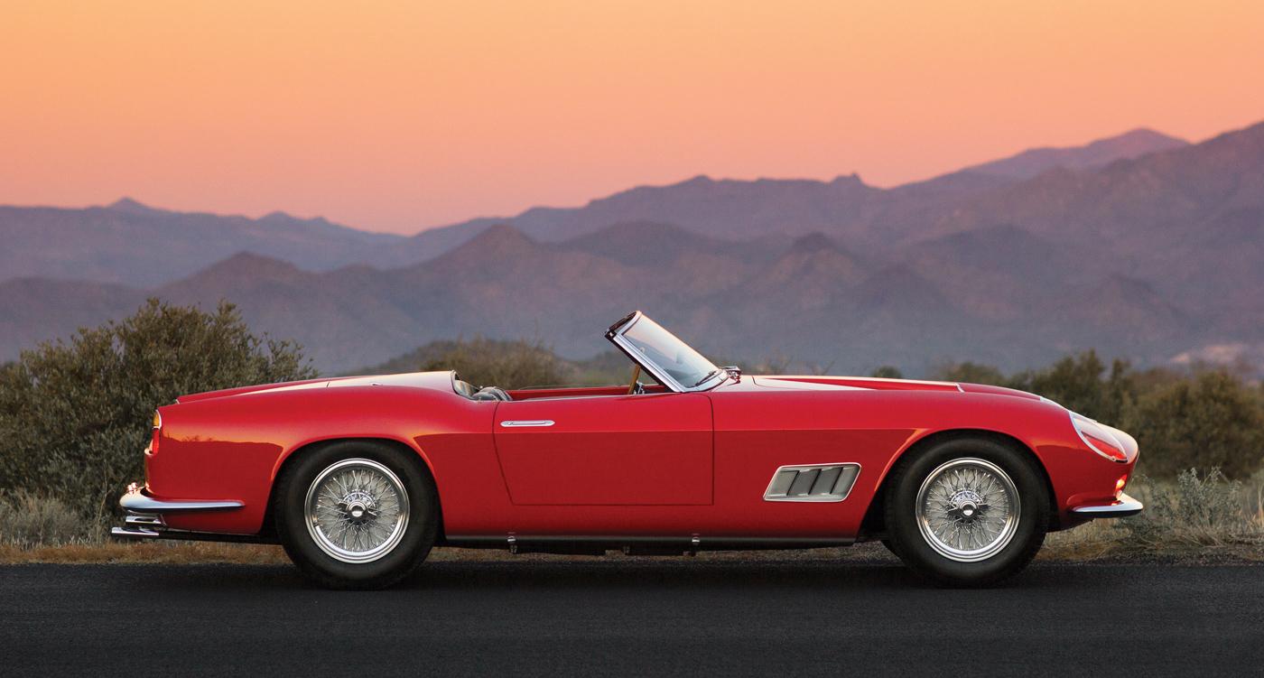 Auktionshighlight Bei Rm In Arizona Ferrari 250 Gt Lwb California