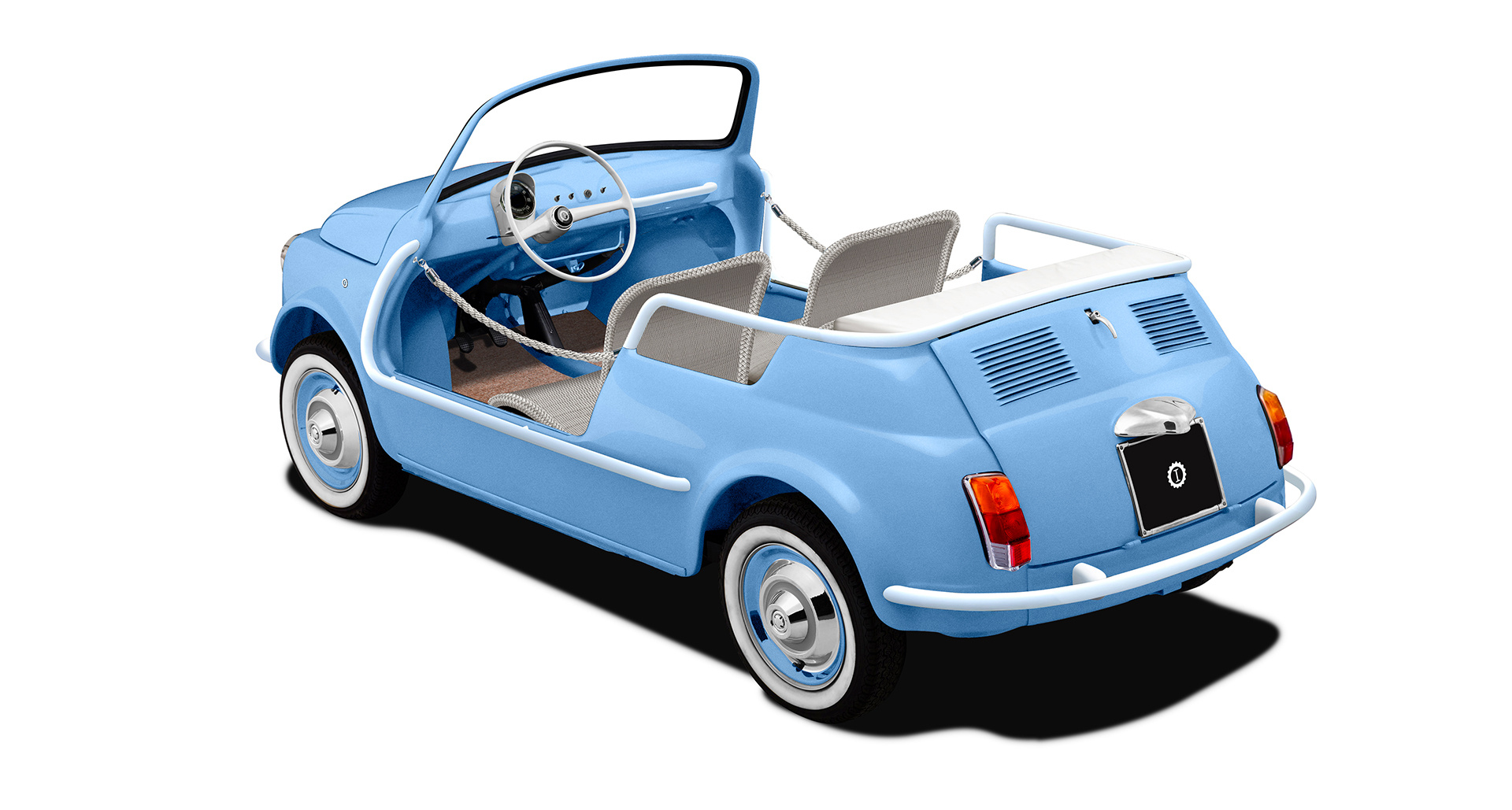 You Ll Only Hear The Waves Of Lake Como With This Electric Fiat 500