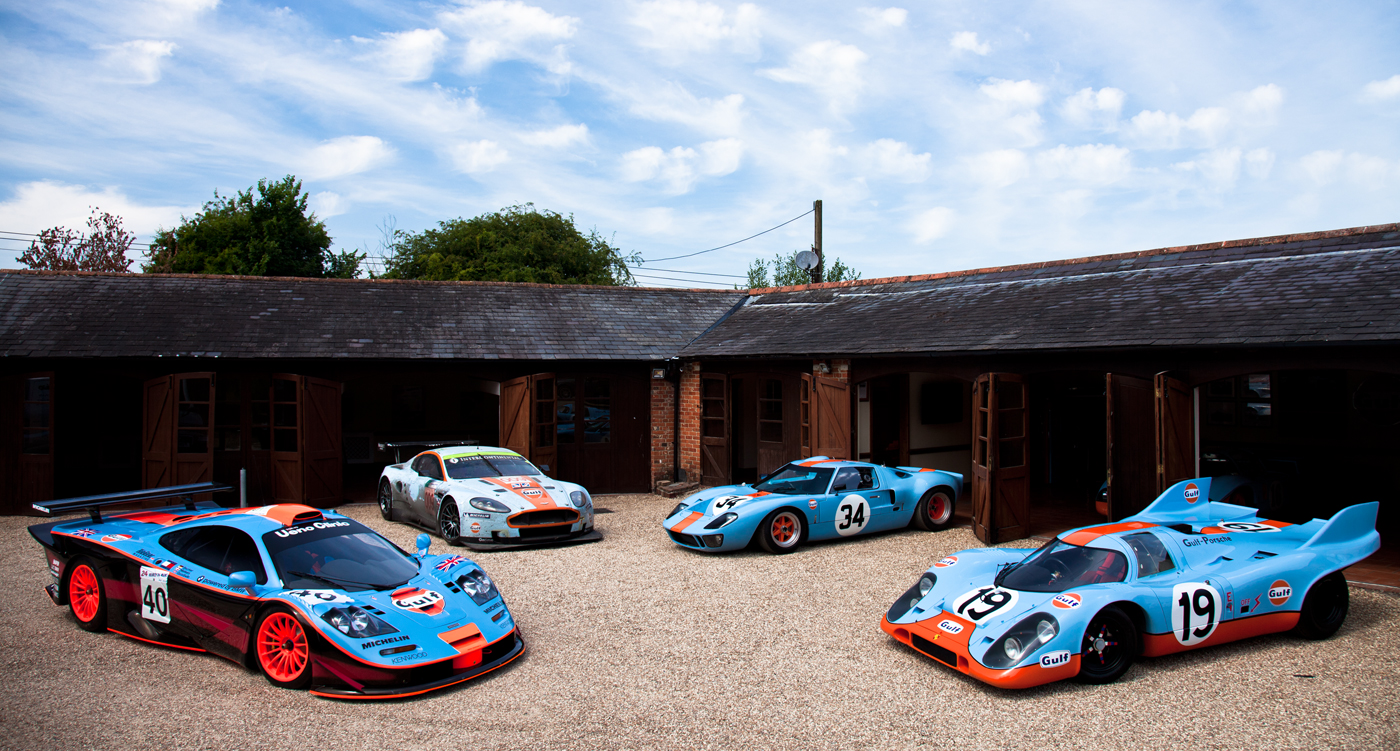meet  heroes  icons   gulf collection classic driver magazine