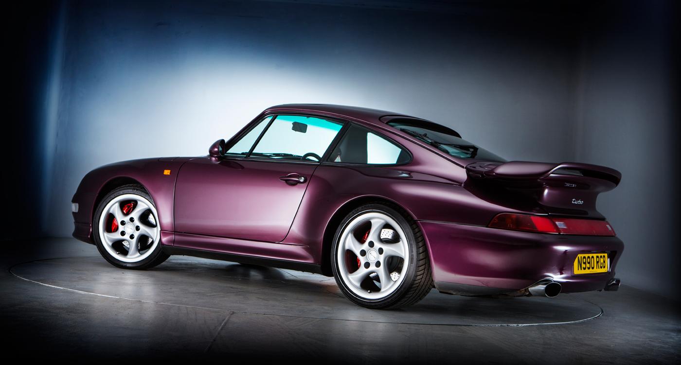 Porsche 911 Turbo 993 Purple Thrills Classic Driver