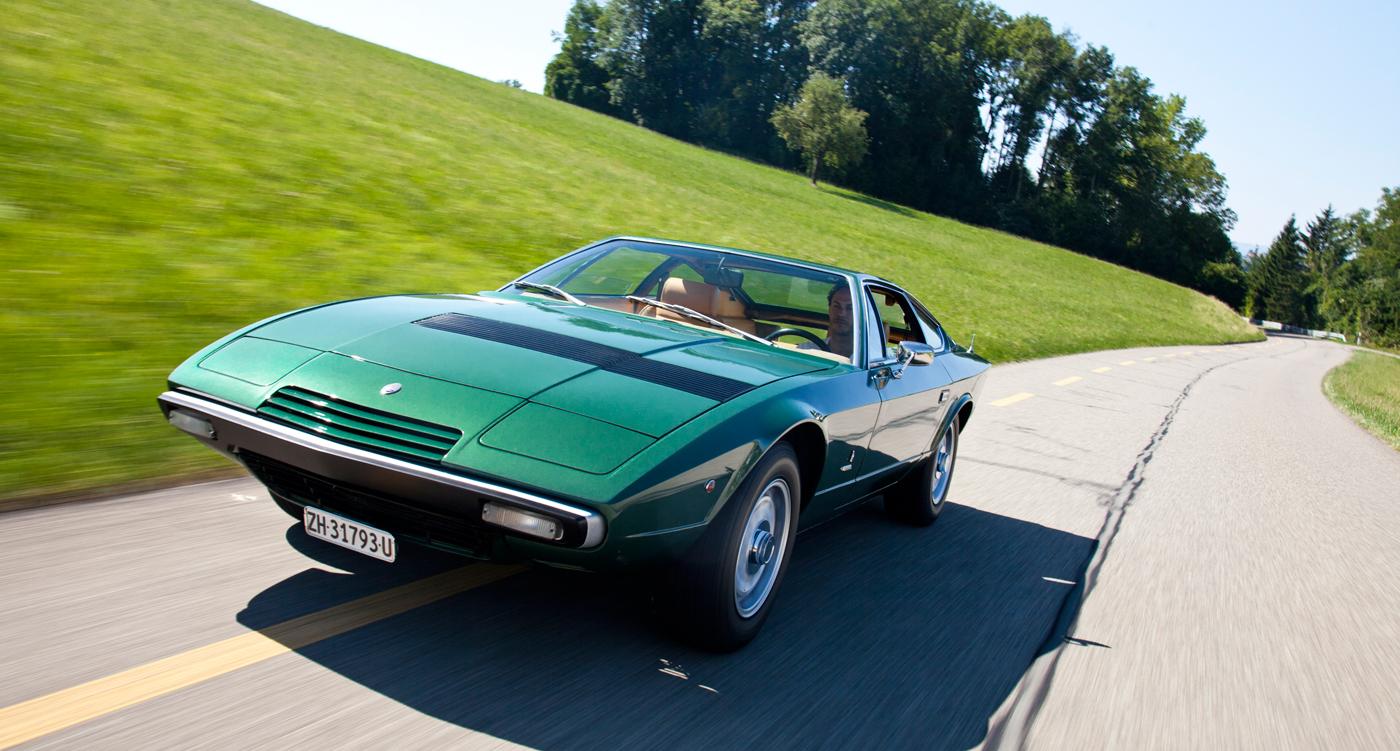 Maserati Khamsin Angular Art Classic Driver Magazine