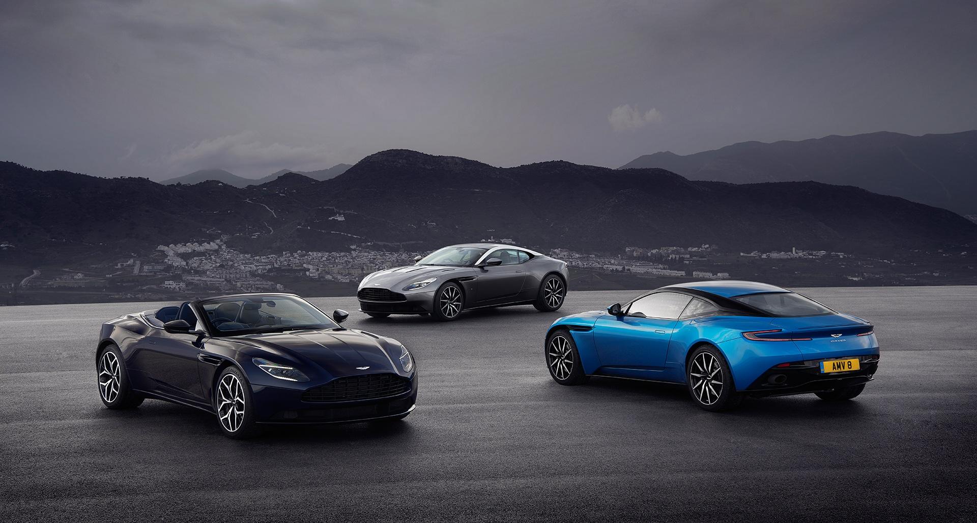 Seit 70 Jahren fährt Aston Martin im Zeichen von David Brown ...
