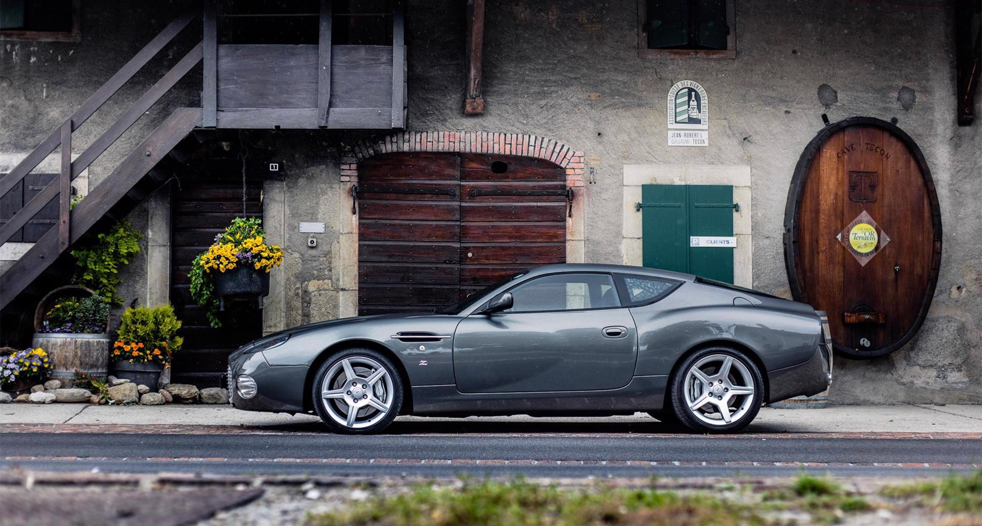 Why It S Time To Reconsider The Aston Martin Db7 Zagato Classic Driver Magazine