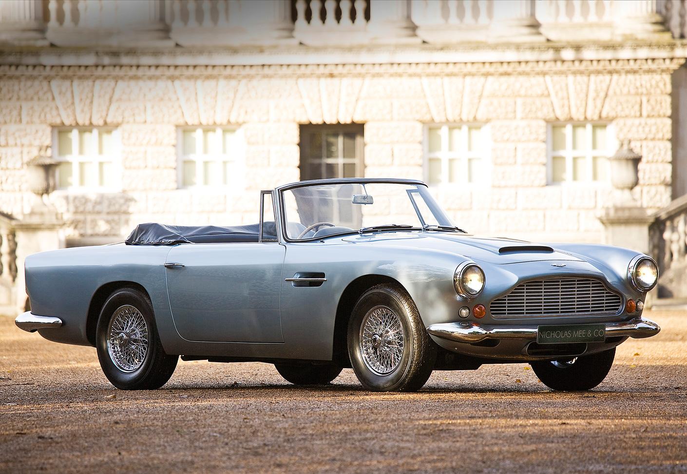 Aston Martin Db4 Convertible Das Superleggera Gefühl Classic Driver Magazine