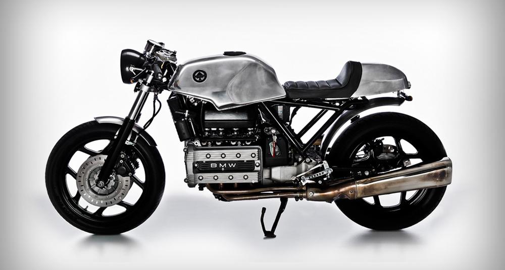 bmw k100 'k-fé' café racer: a recipient of raw beauty | classic