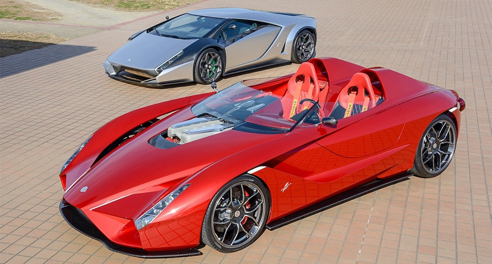 Two Of Japan S Wildest Supercar Concepts Are Now For Sale Classic