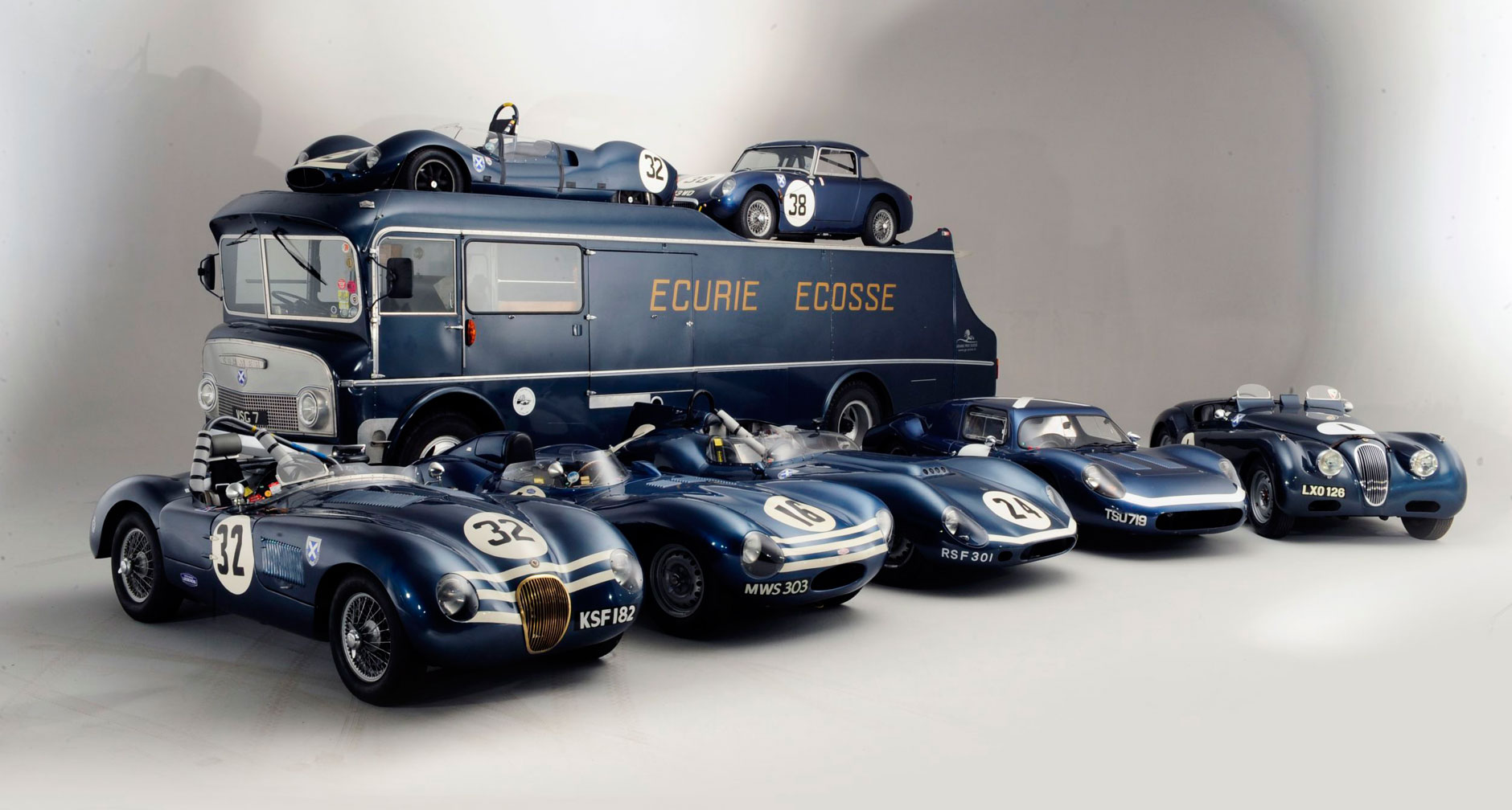 Bonhams To Offer Ecurie Ecosse Collection At Flagship 1