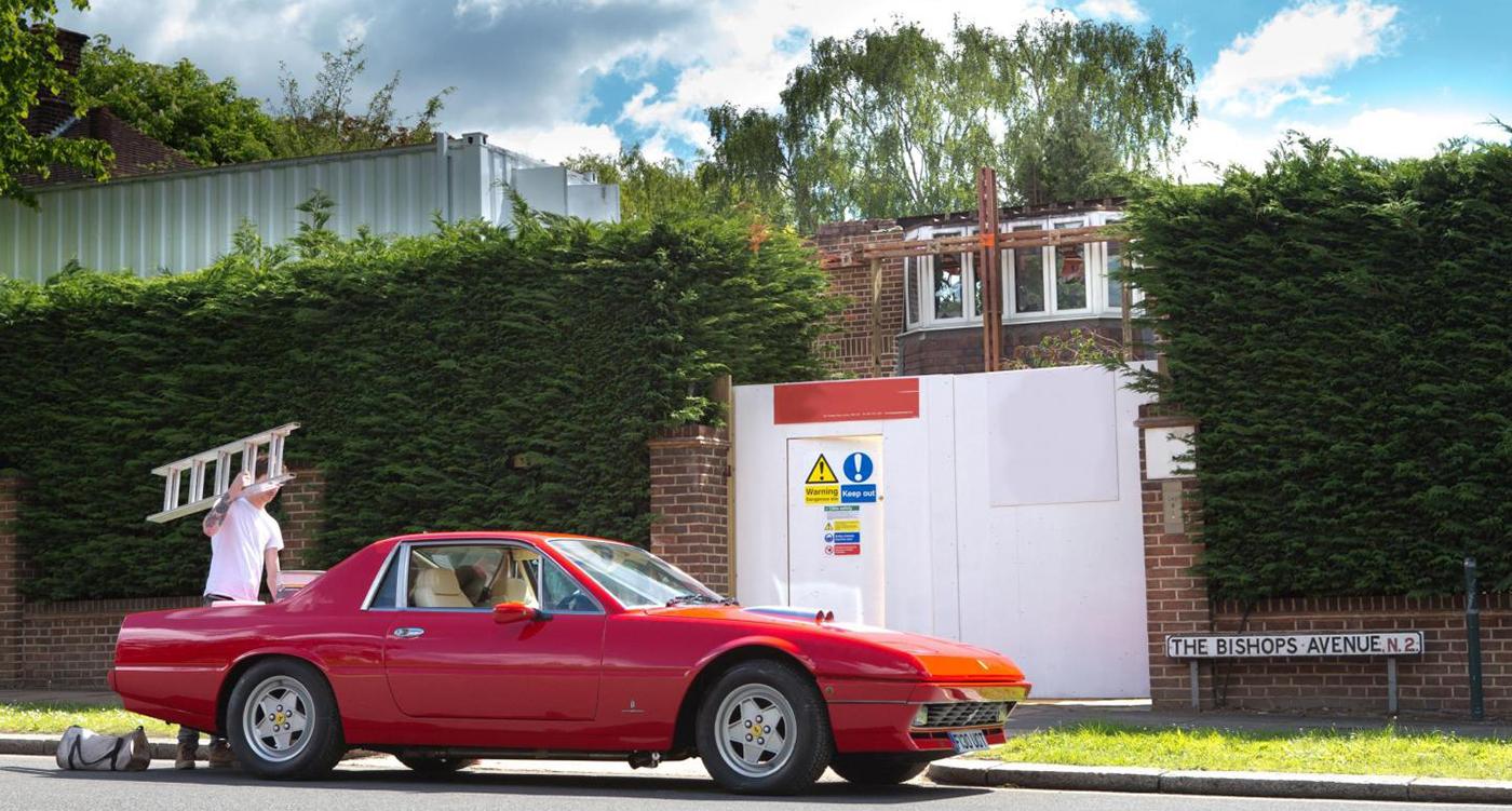 Ferrari 400412 pininfarina coachwork v12 and sheer class for more articles related to ferrari 412 vanachro Images