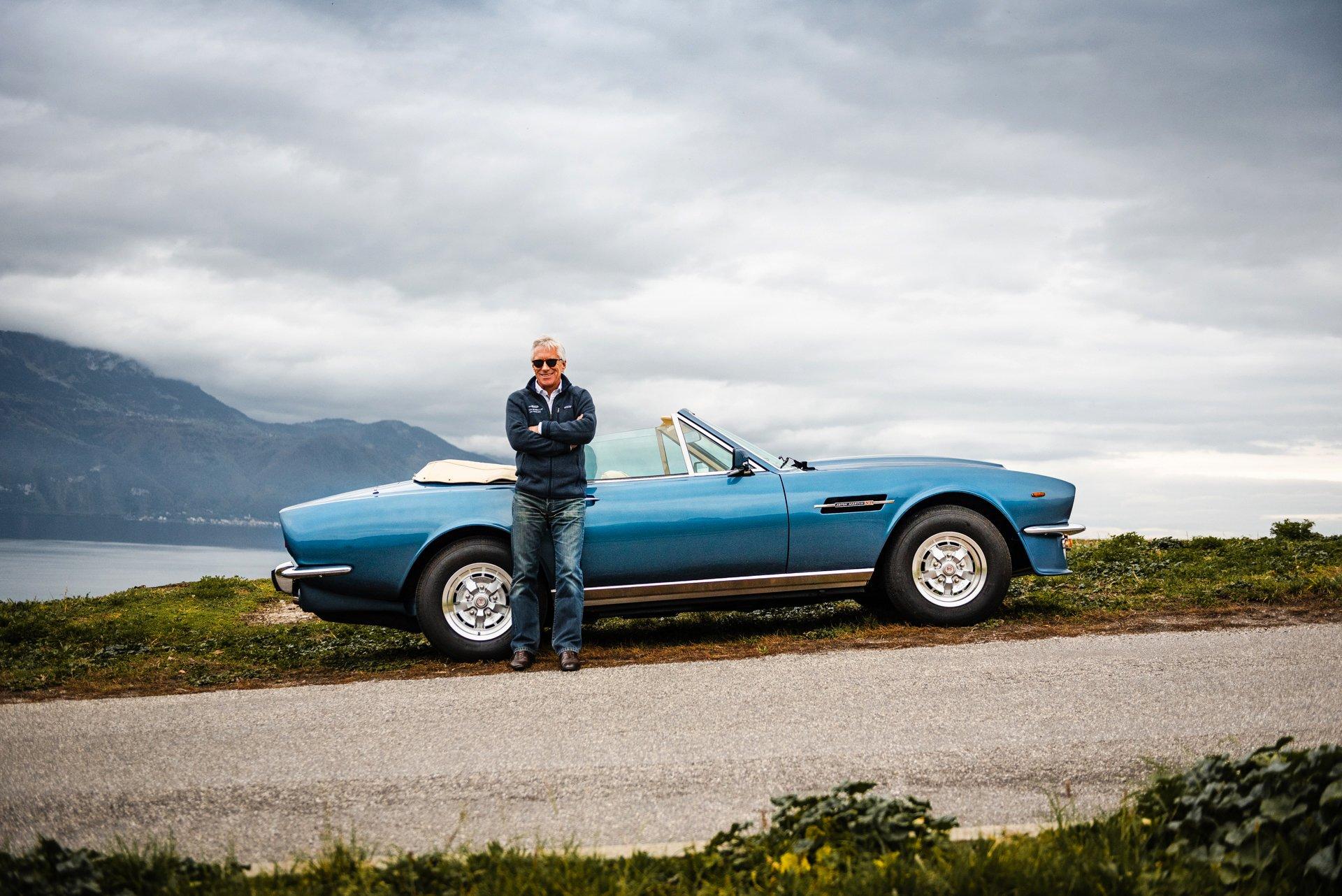 To the Swiss Riviera with Aston Martin expert Jonathan Hartop