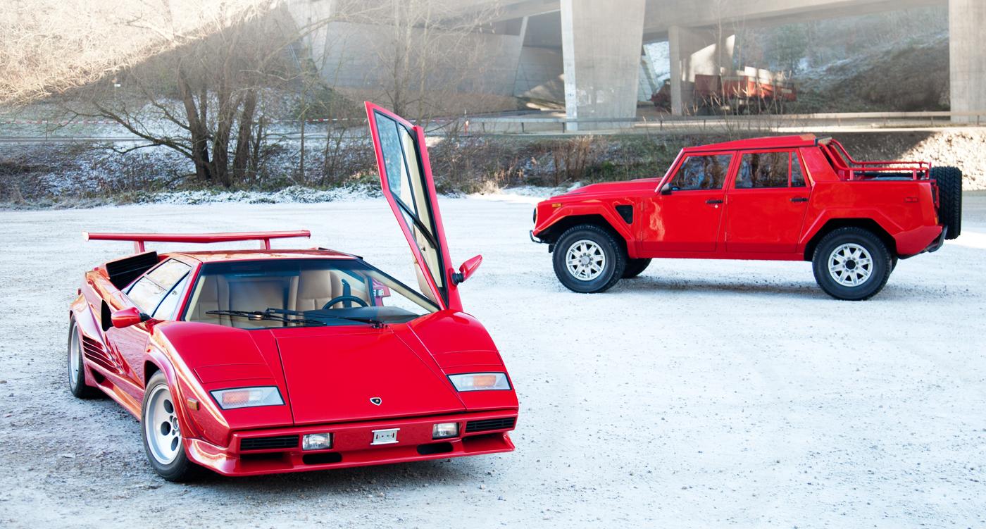 Jingle Bulls Lamborghini Countach Trifft Lm002 Classic