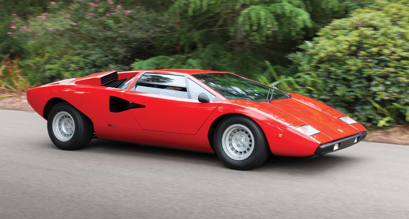 Timeless Classics Lamborghini Countach Lp400 Periscopio Classic Driver Magazine