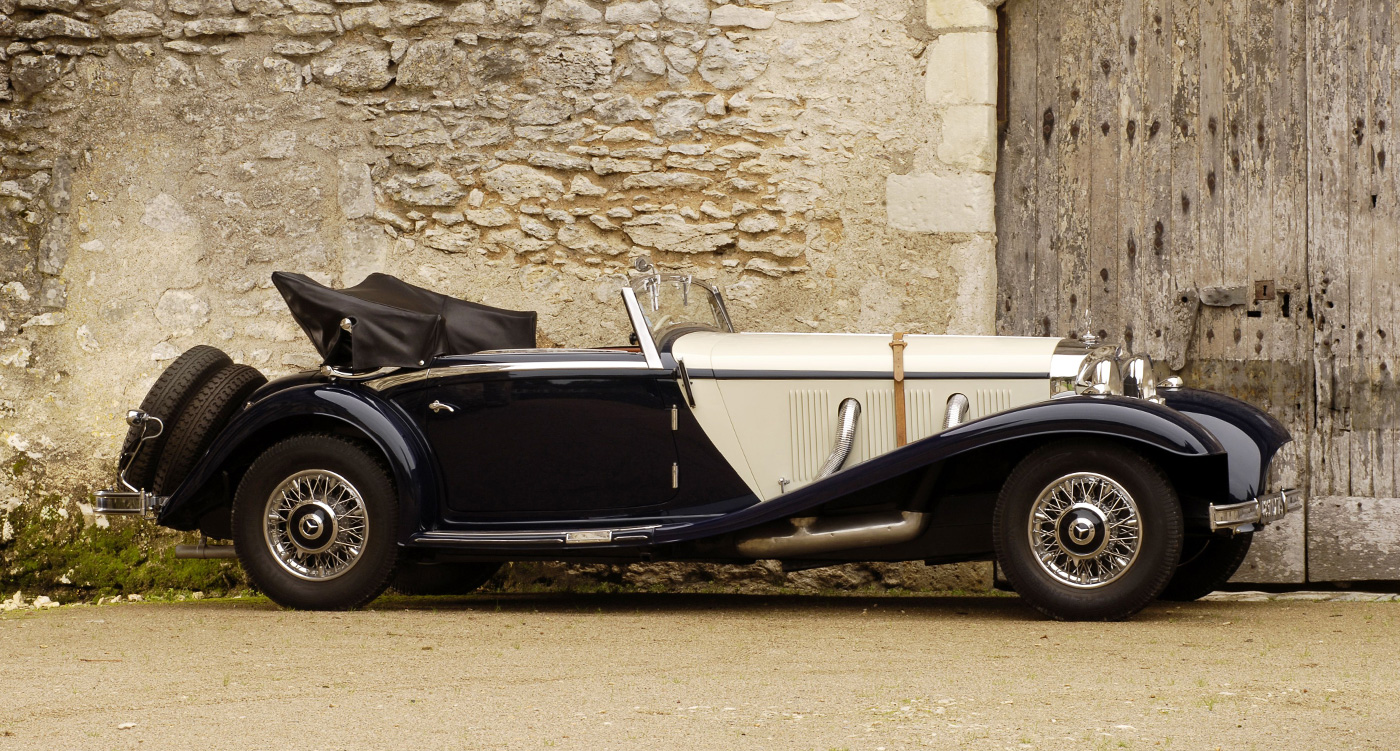 Magnificent mercedes benz 540k to star at bonhams 39 single for Mercedes benz classic magazine