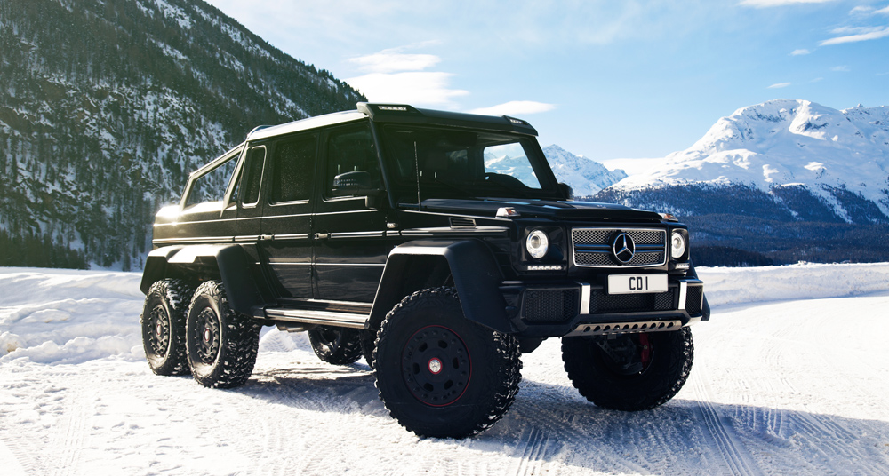 mercedes benz g63 amg 6x6 when too much is not enough
