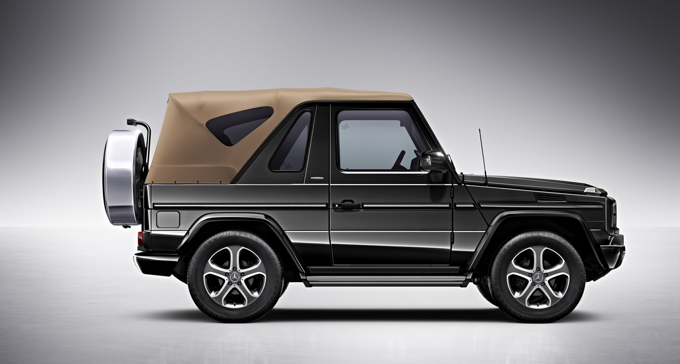 Mercedes Suv Models >> Mercedes G-Class Cabriolet Final Edition: All good things ...