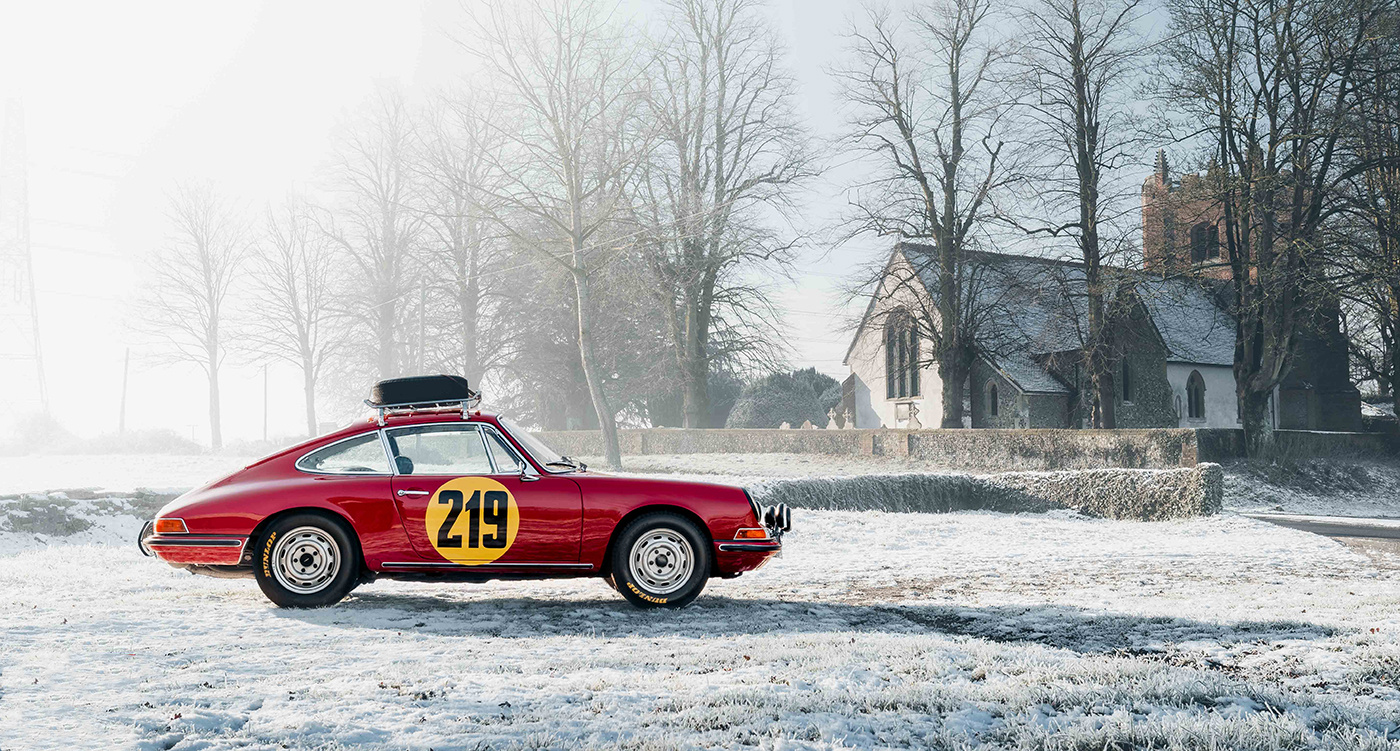 It S Monte Carlo Or Bust For This Rally Spec Classic Porsche 911