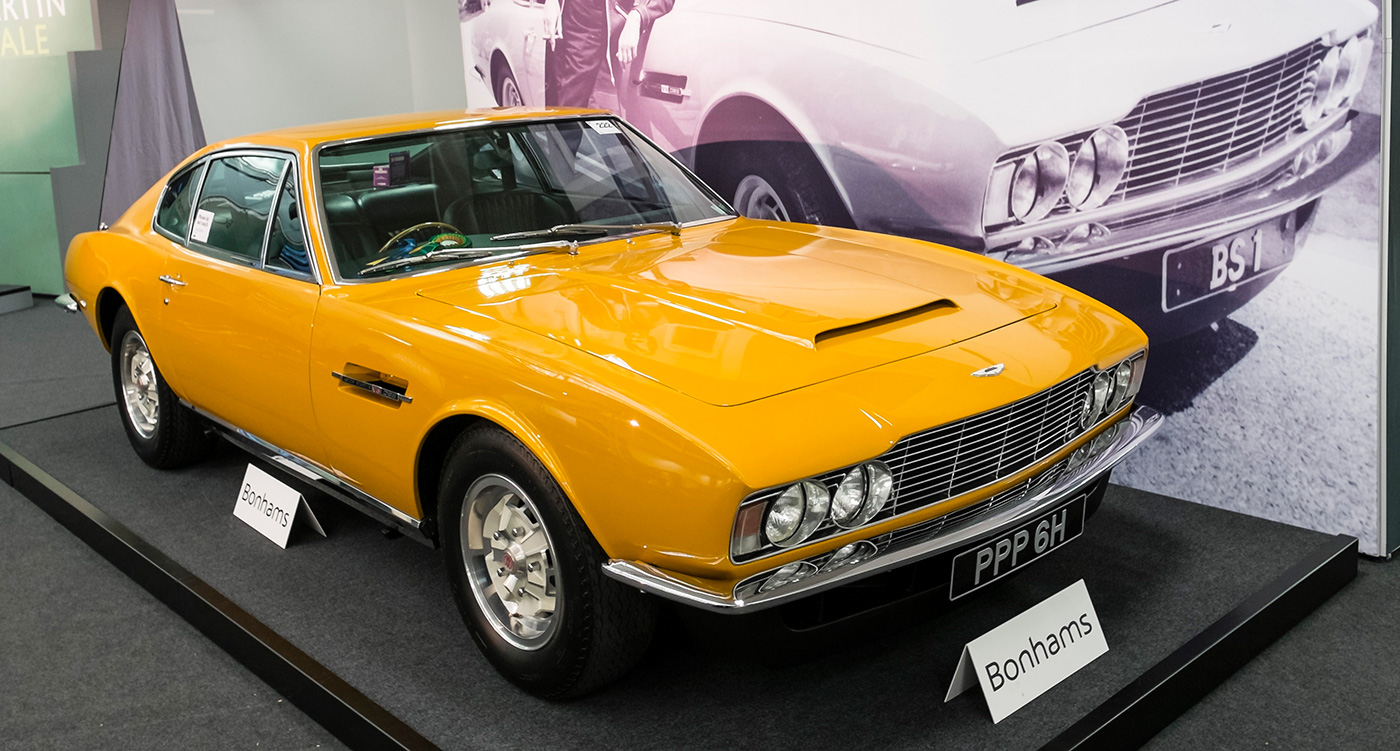 DBS From The Persuaders Sets World Record At Bonhams Aston - Aston martin dbs for sale