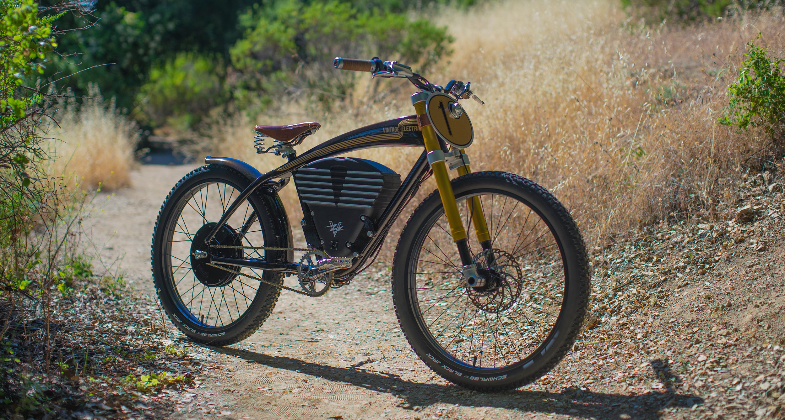 Take Your Commute Off Road With The Vintage Electric