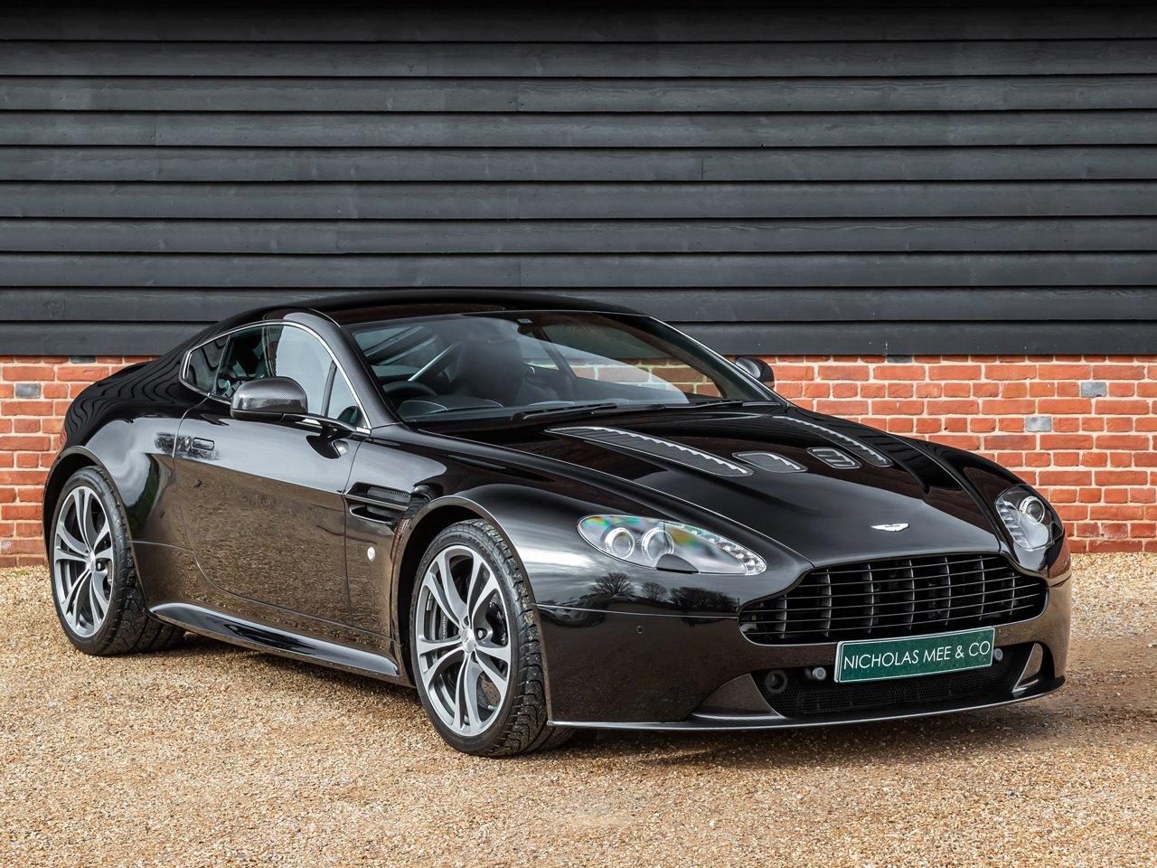 2012 Aston Martin V12 Vantage Classic Driver Market