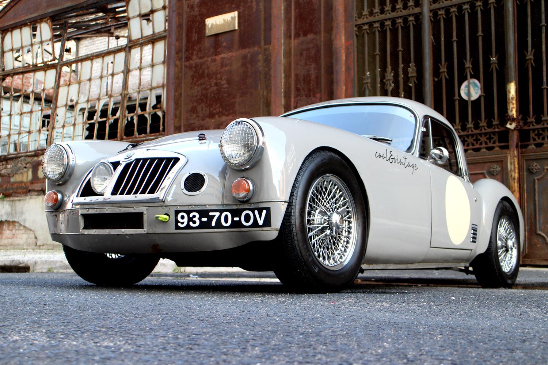 MGA Cafe race cool&vintage | MG A | Pinterest | Cafe racing and Cars
