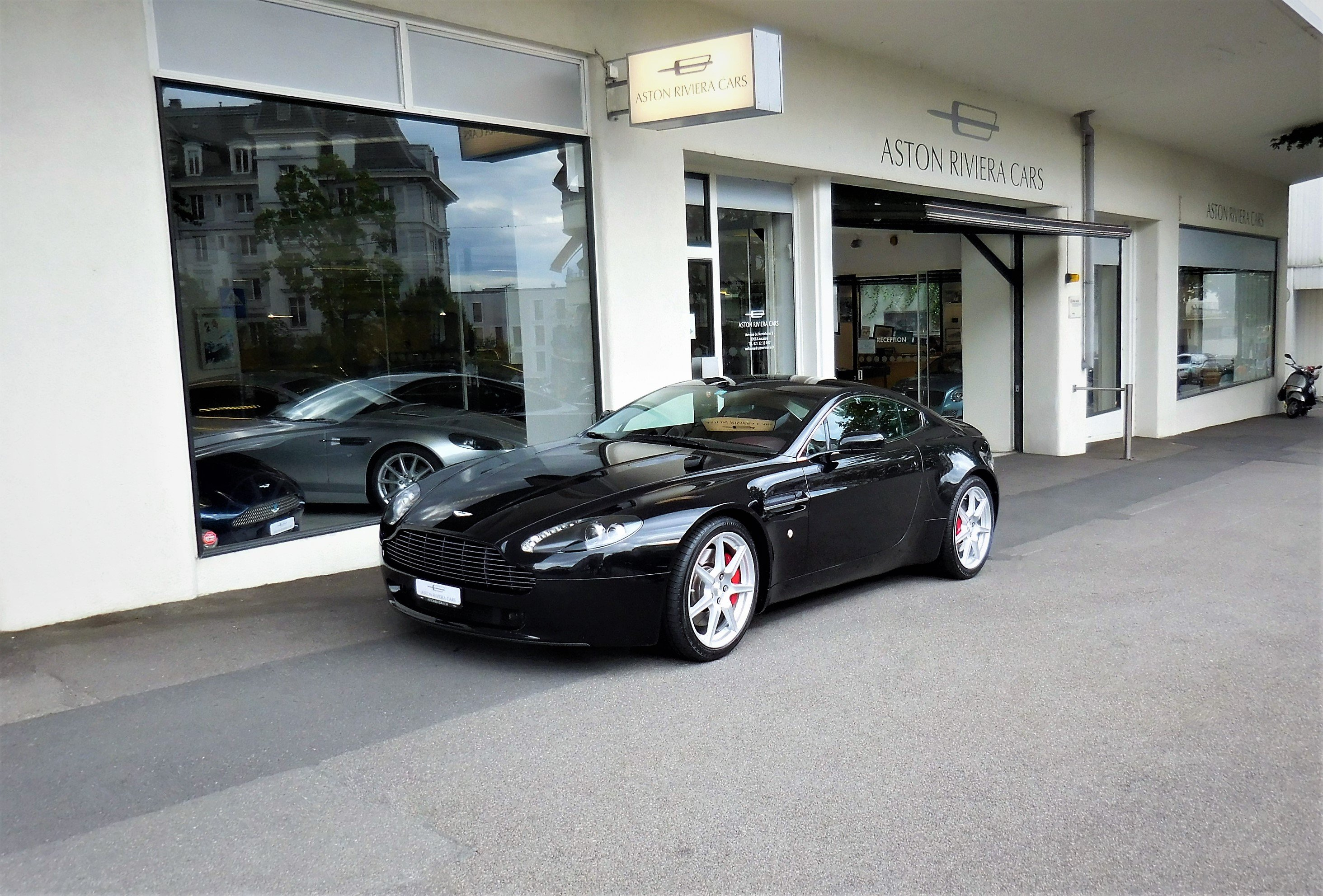 2008 Aston Martin V8 Vantage 4 3 Sportshift Classic Driver Market