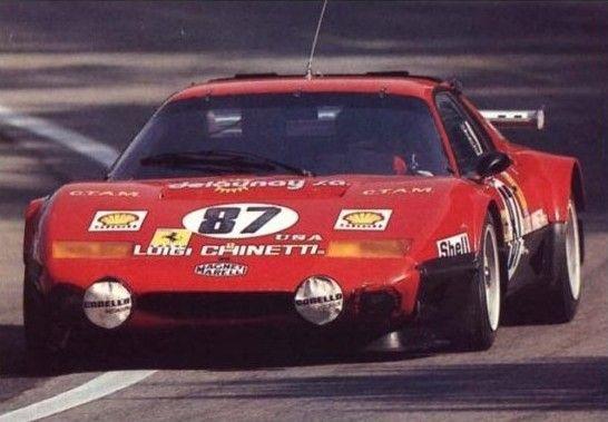 1978 Ferrari 512 - BB 24 heur Le Mans Hood n 78 | Classic