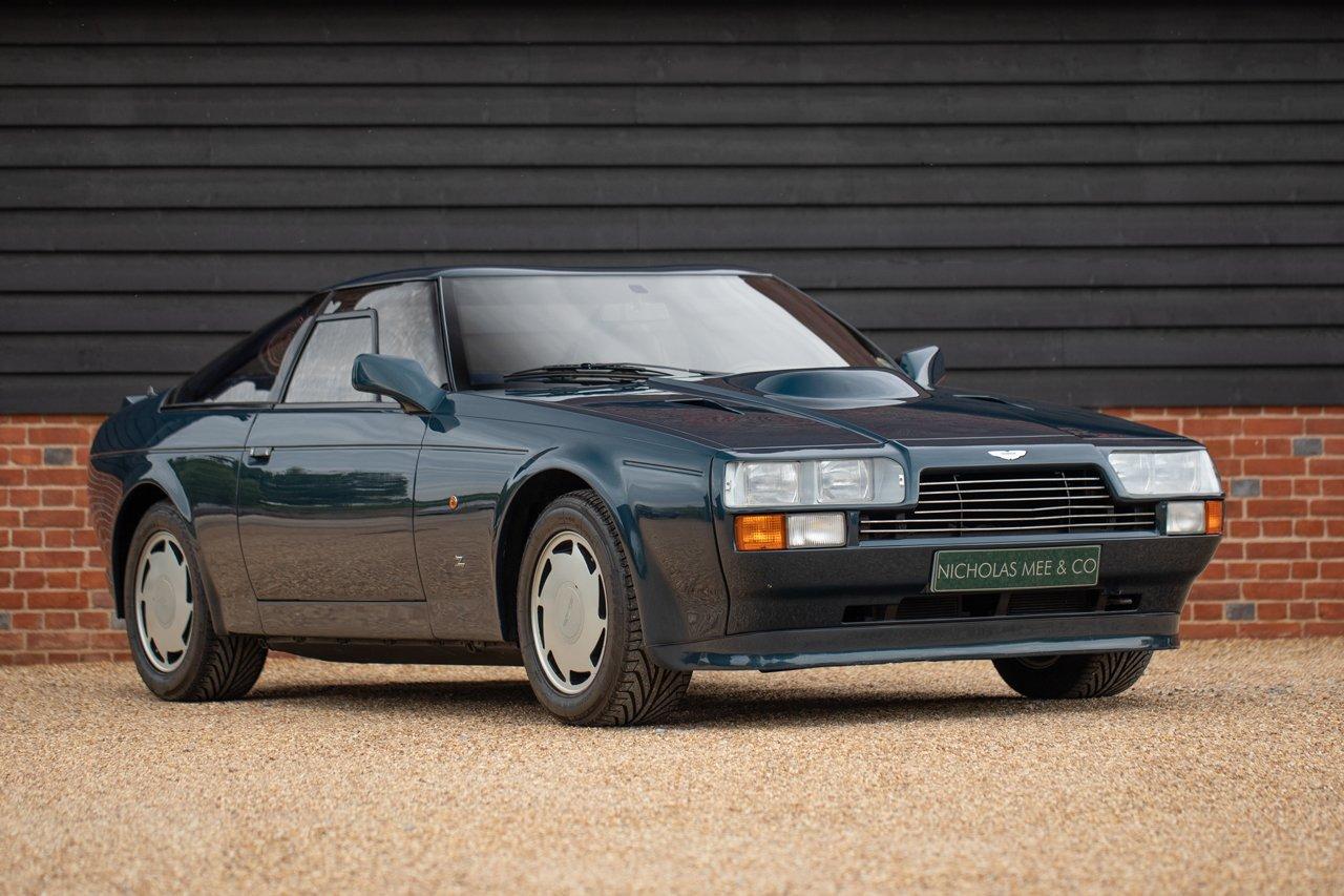 1988 Aston Martin V8 Zagato Lhd 6 800km From New Classic Driver Market