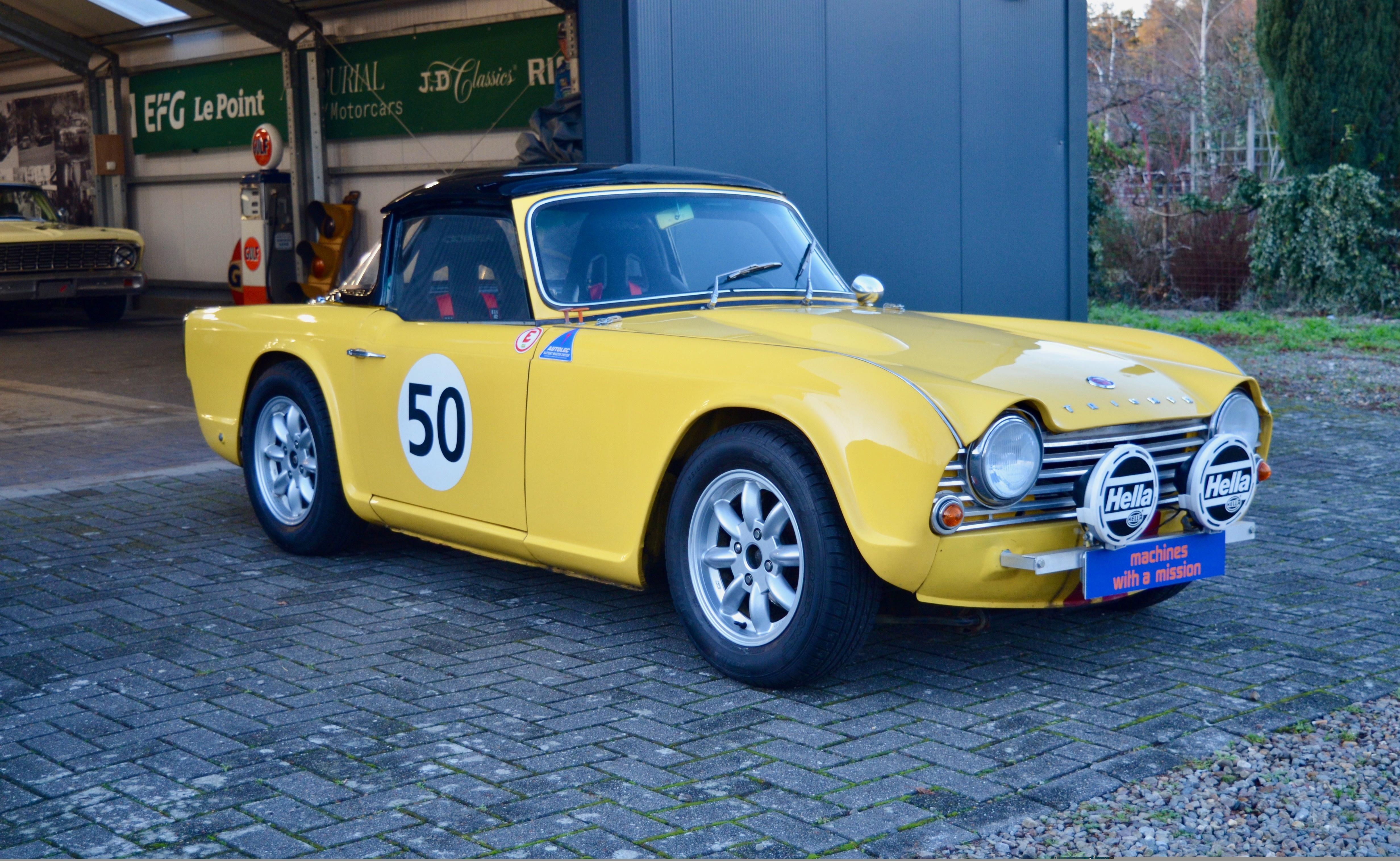1967 Triumph Tr4 Voiture De Collection à Vendre