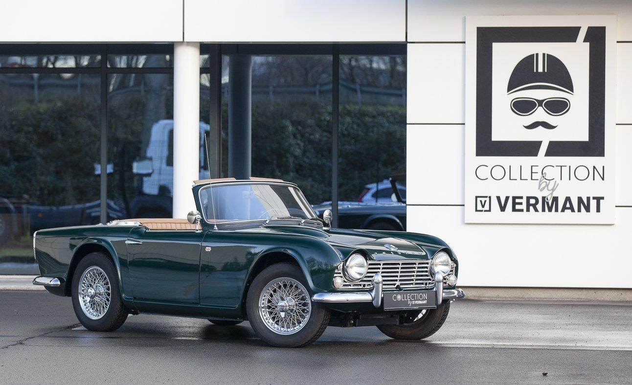 Triumph Cars For Sale >> 1965 Triumph Tr4 Restored Condition Original Bill Of