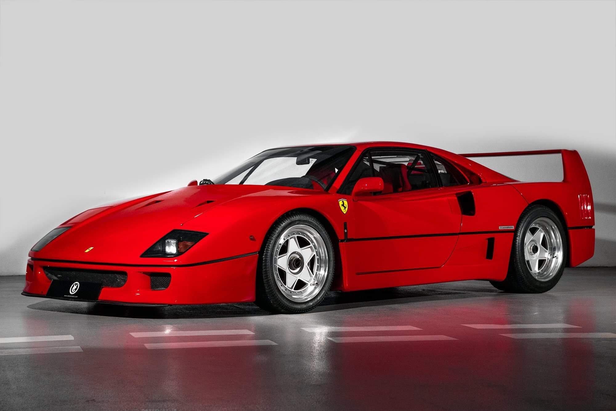 1991 Ferrari F40 F Classic Driver Market