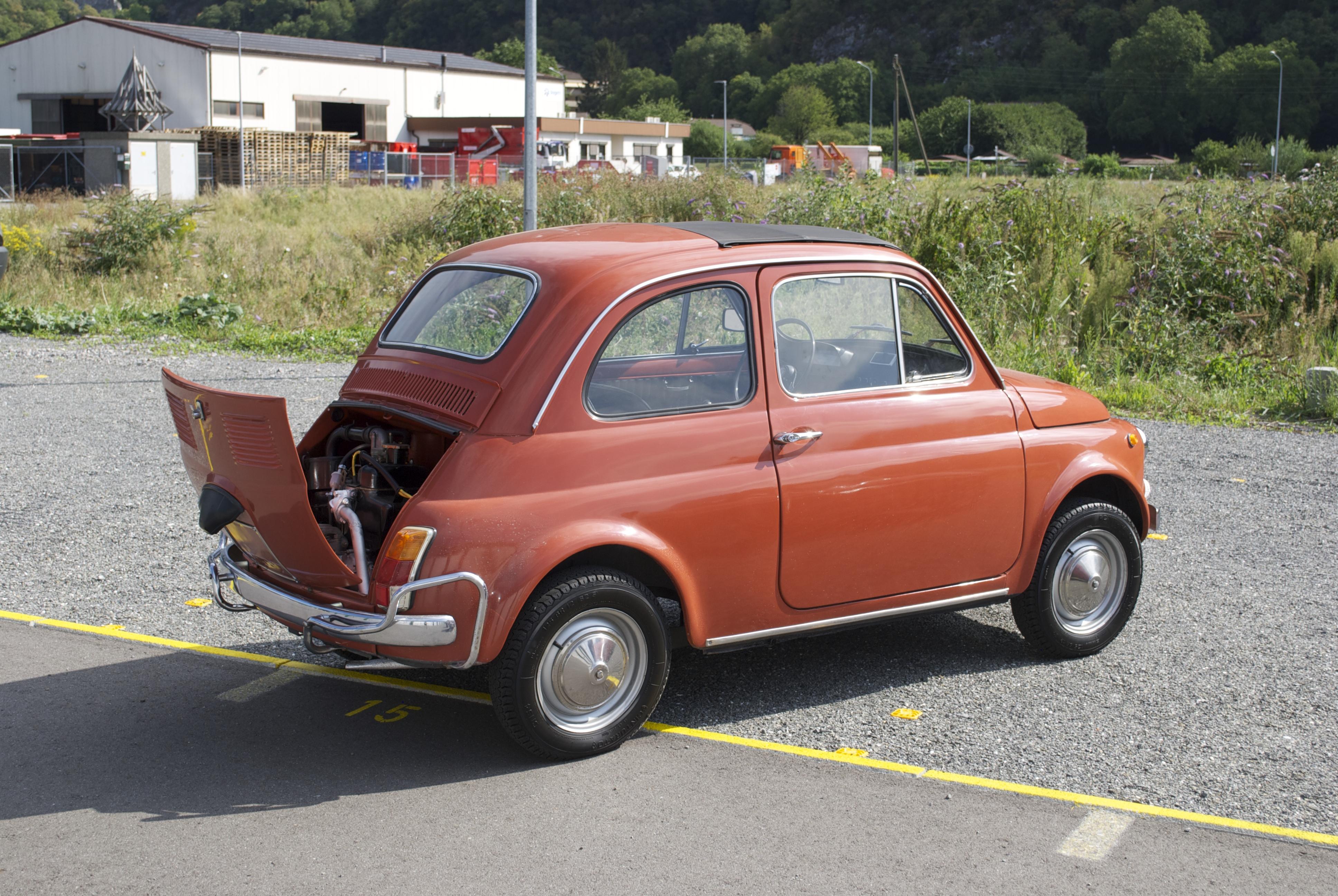 1970 Fiat 500 Vintage Car For Sale