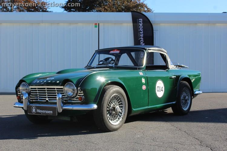 1962 Triumph Tr4 Triumph Tr4 Classic Driver Market