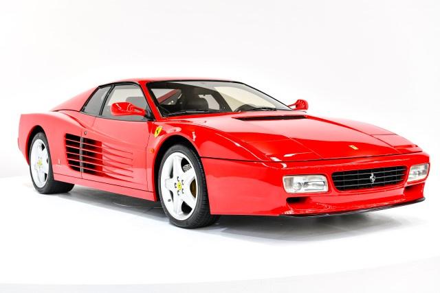 1992 Ferrari Testarossa Classic Driver Market