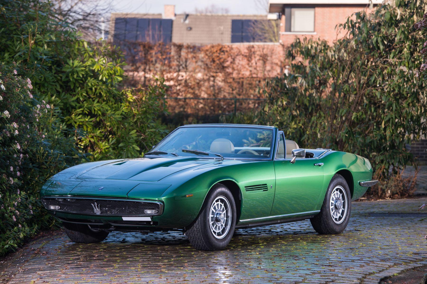 1968 Maserati Ghibli - 4,9L Ghibli spider | Classic Driver ...