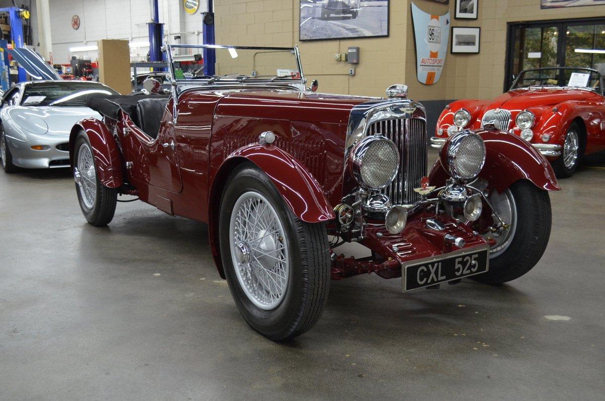 1934 Aston Martin 1 5 Litre 1 5 Liter Mk Ii Short Chassis Classic Driver Market