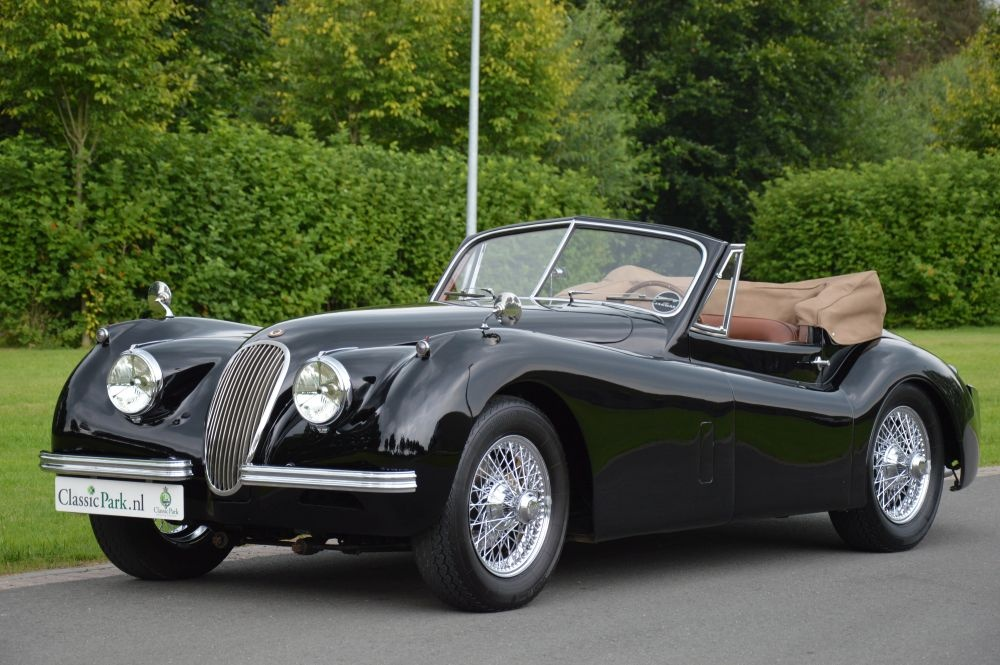 1953 jaguar xk 120 dhc classic driver market. Black Bedroom Furniture Sets. Home Design Ideas