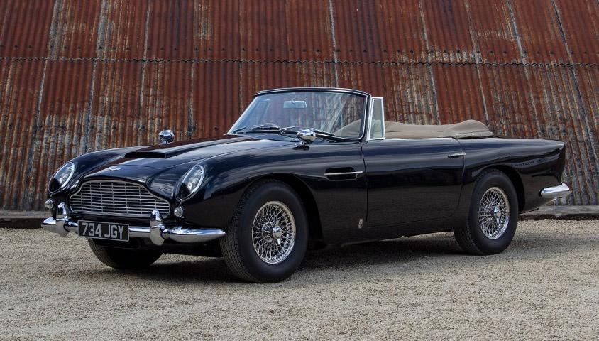 1963 Aston Martin Db5 Convertible Classic Driver Market