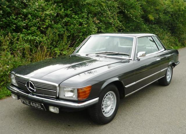 1974 mercedes benz slc 350slc classic driver market for Mercedes benz 350 slc