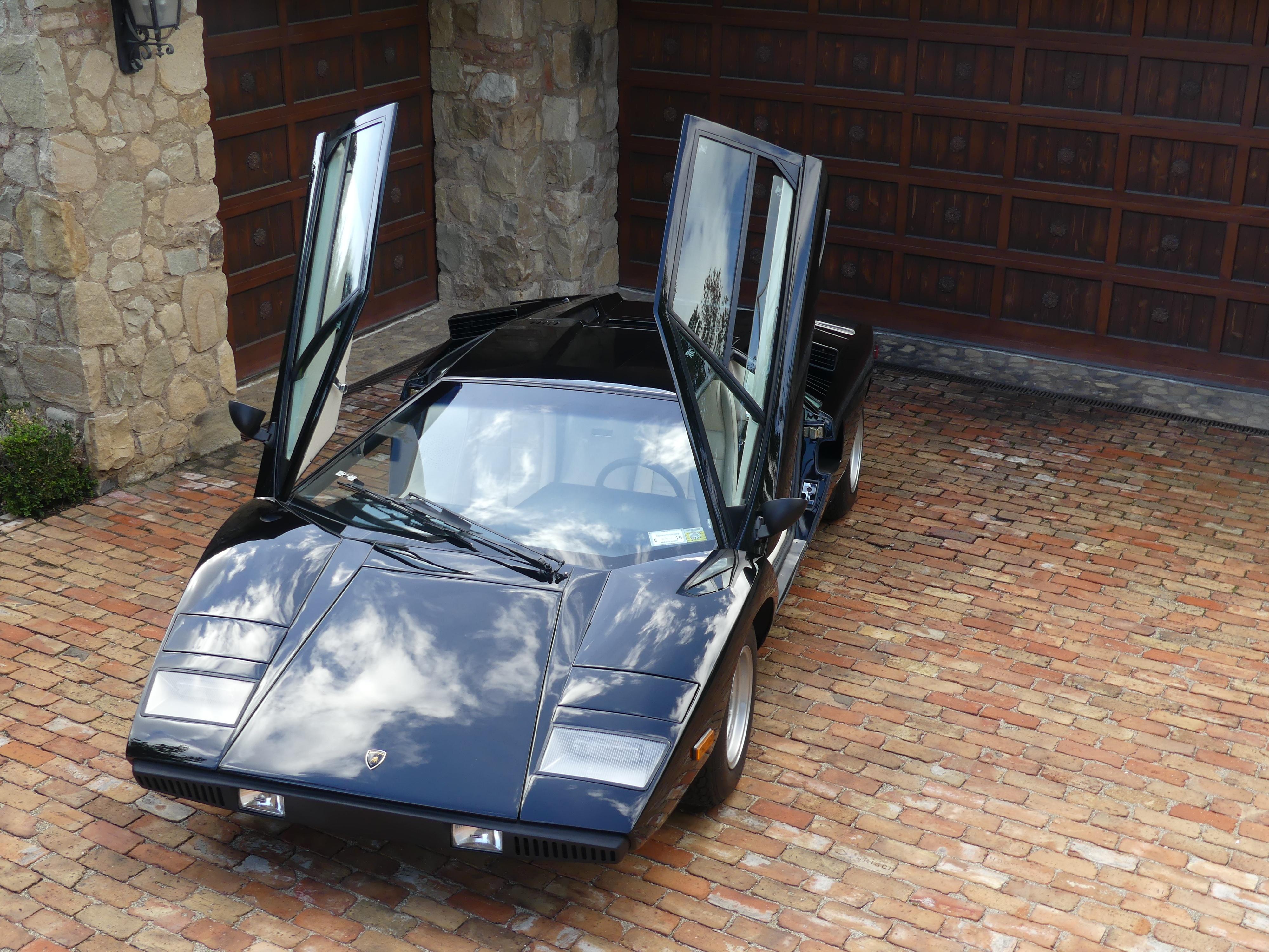 1976 Lamborghini Countach Voiture De Collection A Vendre