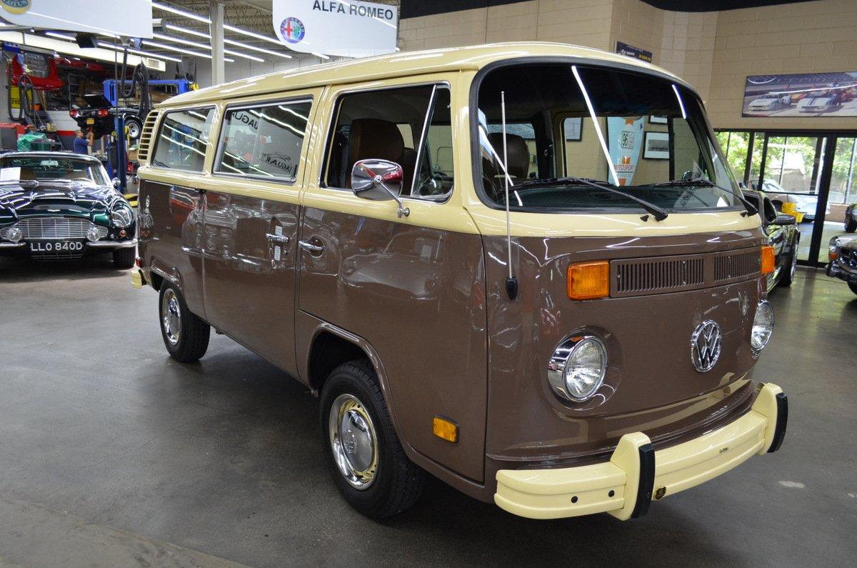 1978 Vw Transporter Type 2 Bus Vintage Car For Sale