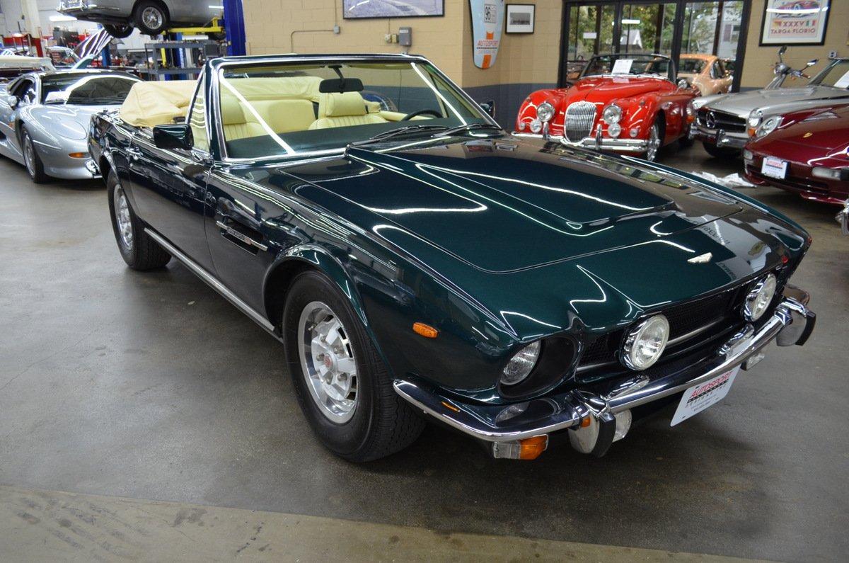 1980 Aston Martin V8 Volante Oldtimer Zu Verkaufen