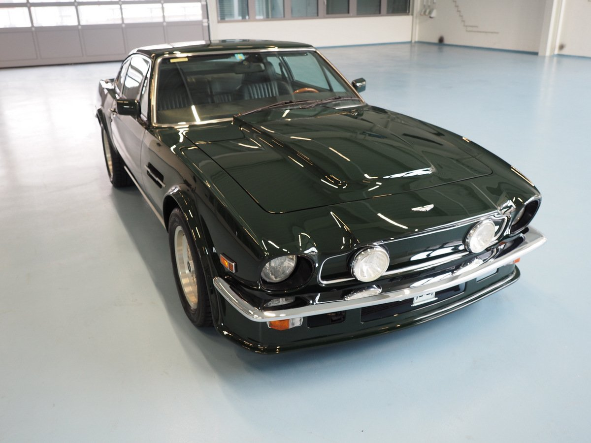 1988 Aston Martin V8 Vantage Coupe Cosmetic X Pack Classic Driver Market