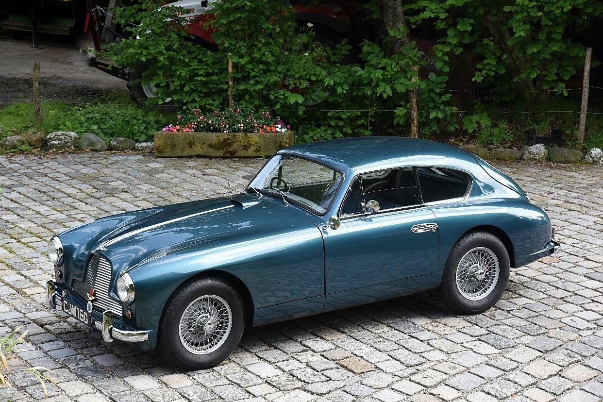 1955 Aston Martin Db2 4 2 Hand Classic Driver Market